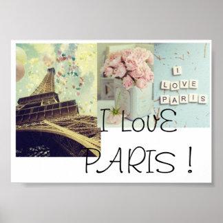Paris poster pôster