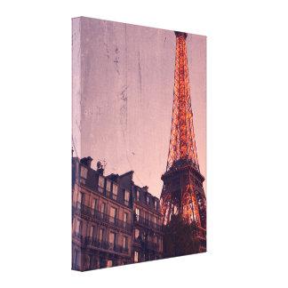 Paris retro - sempre uma boa ideia - canvas
