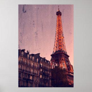 Paris retro - sempre uma boa ideia - poster
