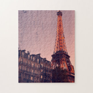 Paris retro - sempre uma boa ideia - quebra-cabeça