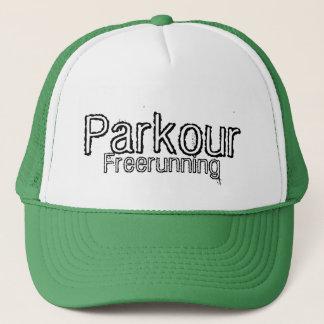 Parkour e boné Freerunning