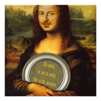 Paródia de William Shakespeare Convites Personalizados