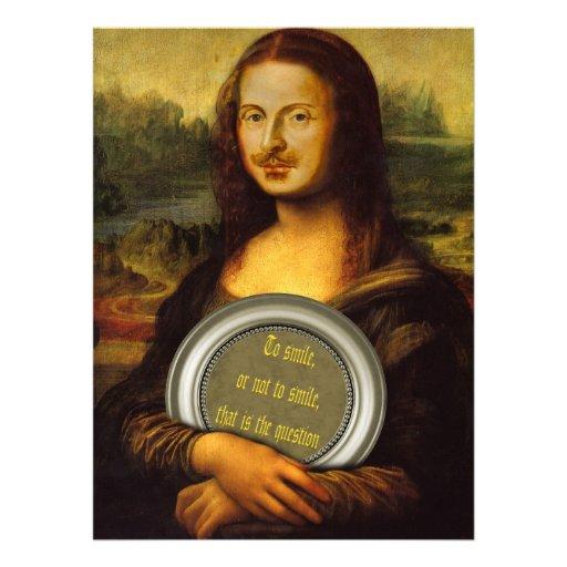 Paródia de William Shakespeare Convite