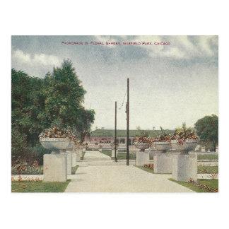 Parque Chicago Illinois de Garfield do vintage Cartão Postal