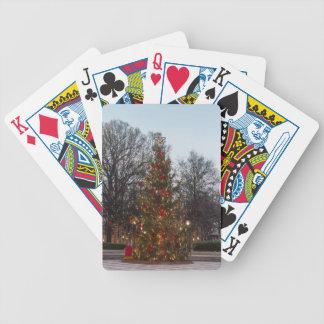 Parque de Linn da árvore de Natal Baralho De Poker