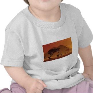 Parque do safari camiseta