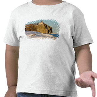 Parque estadual rachado do farol da rocha no lago tshirts