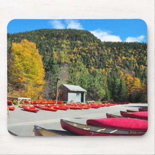 Parque Kayaking Canoeing Mousepad de Jacques Carti