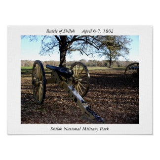Parque militar nacional de Shiloh Poster