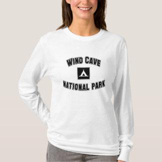 Parque nacional da caverna do vento camiseta
