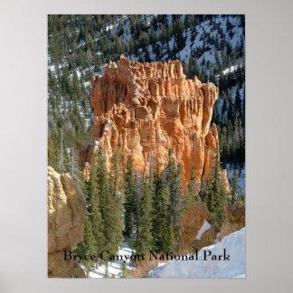 Parque nacional da garganta de Bryce Impressão