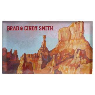 Parque nacional da garganta de Bryce Suporte Para Cartão De Mesa