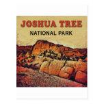 Parque nacional de árvore de Joshua Cartões Postais