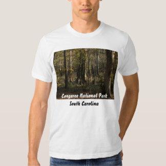 Parque nacional de Congaree T-shirts