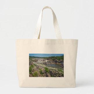 Parque nacional de Great Falls Sacola Tote Jumbo