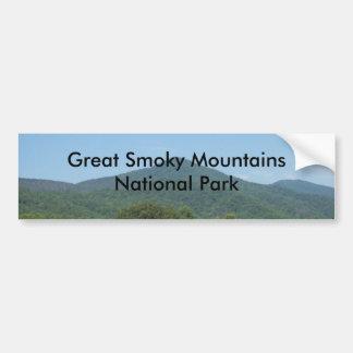 Parque nacional de Great Smoky Mountains Adesivo Para Carro