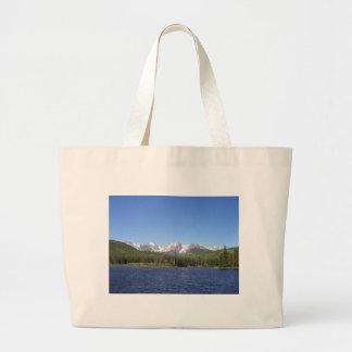 Parque nacional de montanha rochosa sacola tote jumbo