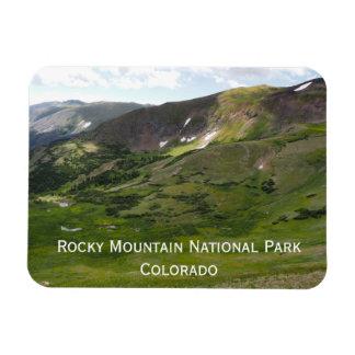 Parque nacional de montanha rochosa ímã