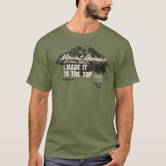 Parque nacional de Monte Rainier Washington IMITTT Camiseta