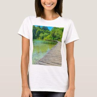 Parque nacional de Plitvice em fugas de caminhada Camiseta