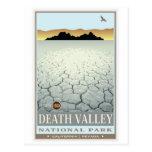 Parque nacional de Vale da Morte 3 Cartao Postal