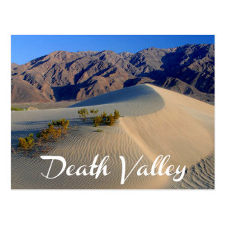 Parque nacional de Vale da Morte, cartão de