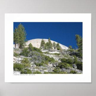 Parque nacional de Yosemite - meia abóbada Poster