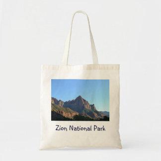 Parque nacional de Zion Sacola Tote Budget