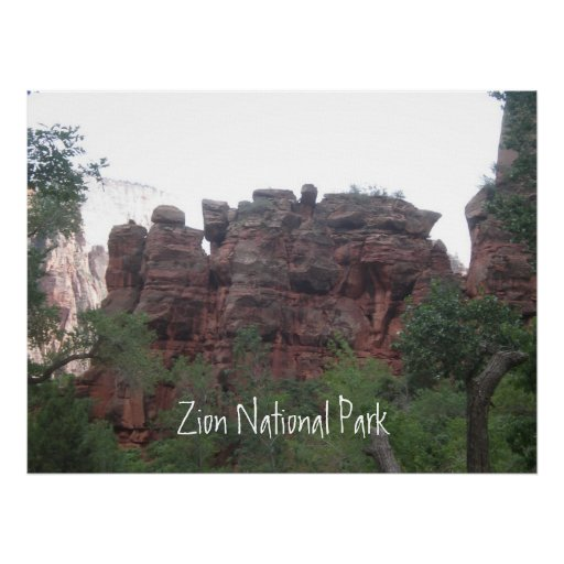 Parque nacional de Zion Pôsteres