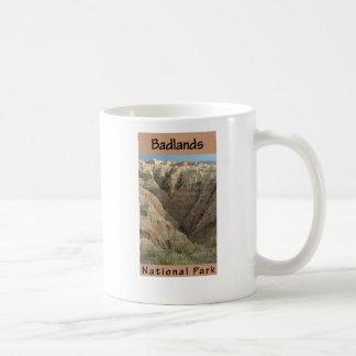 Parque nacional do ermo caneca de café