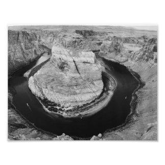Parque nacional do Grand Canyon de B&W Impressão De Foto