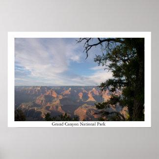 Parque nacional do Grand Canyon Poster