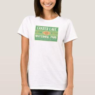 Parque nacional do lago crater camiseta