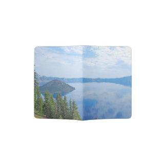 Parque nacional do lago crater capa para passaporte
