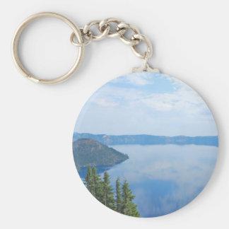 Parque nacional do lago crater chaveiro