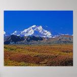 Parque nacional do Monte McKinley Denali, Alaska Impressão