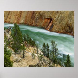 Parque nacional dos EUA, Wyoming, Yellowstone Poster