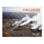 Parque nacional dos vulcões de Havaí (whs do UNESC Cartão Postal