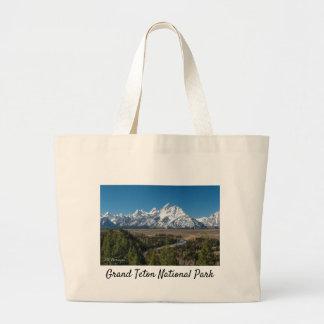 Parque nacional grande de Teton do Bolsa enorme da