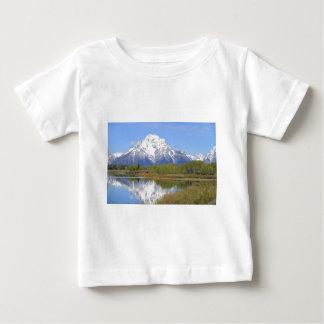 Parque nacional grande do Mt. Moran Teton Camiseta Para Bebê