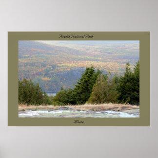 Parque nacional Maine do Acadia Poster