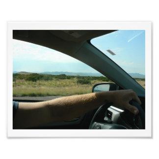 Parque nacional Texas de curvatura grande do Impressão De Foto