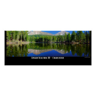 Parque nacional vulcânico de Lassen Pôster