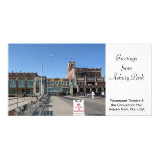 Parque NJ de salão de convenção Asbury do teatro d Cartoes Com Fotos