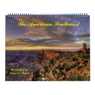 Parques nacionais do sudoeste americano - calendário