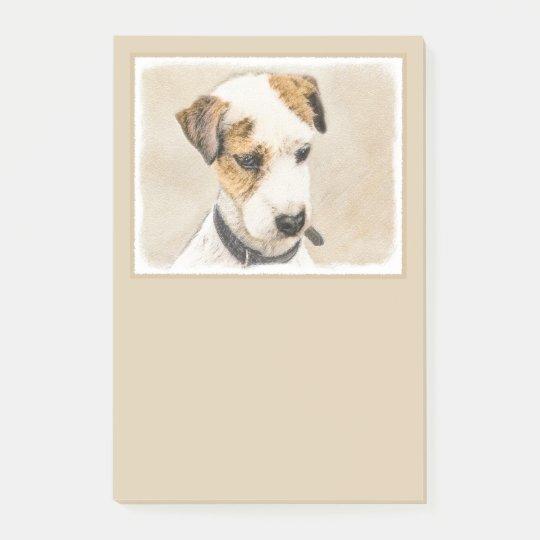 Parson Jack Russell Terrier Bloco De Notas