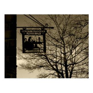 Parsonage Haworth de Bronte - cartão
