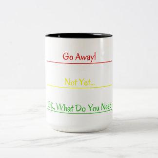 Parta! Caneca de café