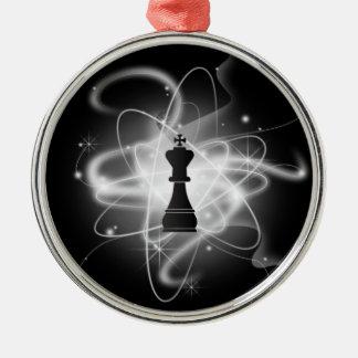Parte de xadrez atômica retro - rei enfeites