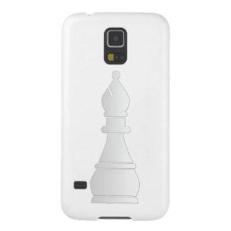 Parte de xadrez branca do bishop capinhas galaxy s5